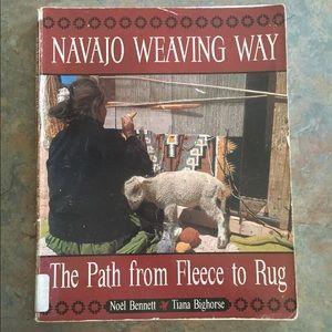 Vintage Navajo Weaving Way Book